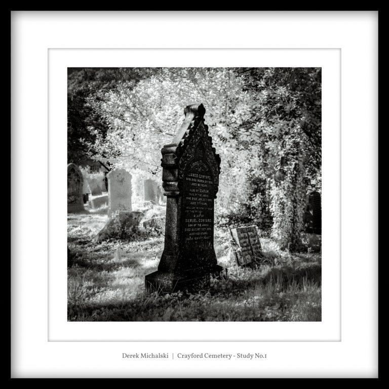 IR - Crayford - Cemetery - 19 April 2021 IMG_9060 Crayford Cemetery - Study No.1