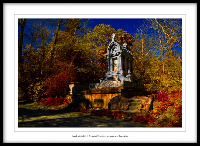 UK - London - Nunhead Cemetery - 23 April 2021 DSC_7171 Nunhead Cemetery, Monument to John Allen